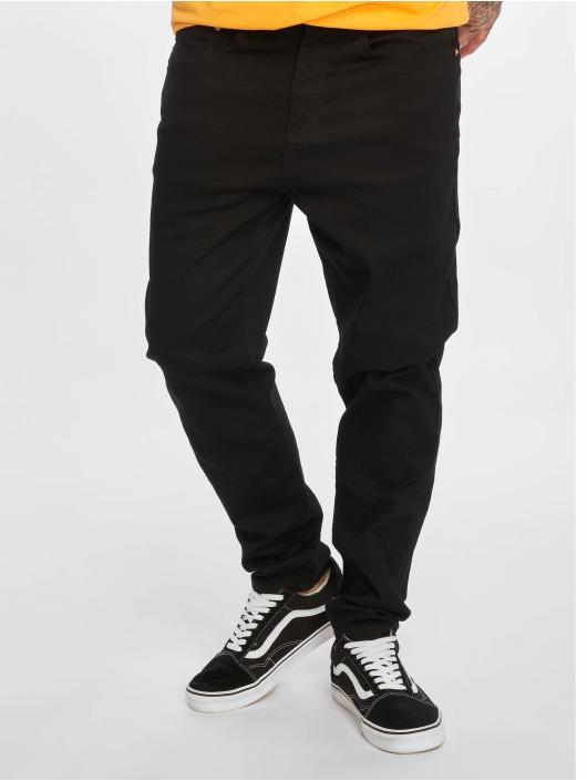 New Look Straight Fit Jeans Black schwarz