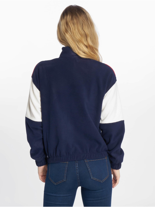 New Look Sweat & Pull Half Zip CLBK Polar Fleece bleu