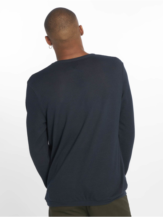 Look Homme New Bleu Textured 651437 Sweatamp; Pull 76Yvbfgy