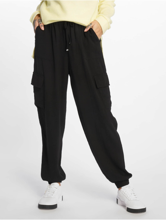 New Look Sweat Pant JE Utility Cuffed black