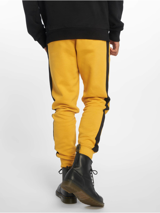 New Look Sweat Pant Side Stripe orange