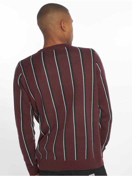 New Look Swetry Vertical Stripe czerwony