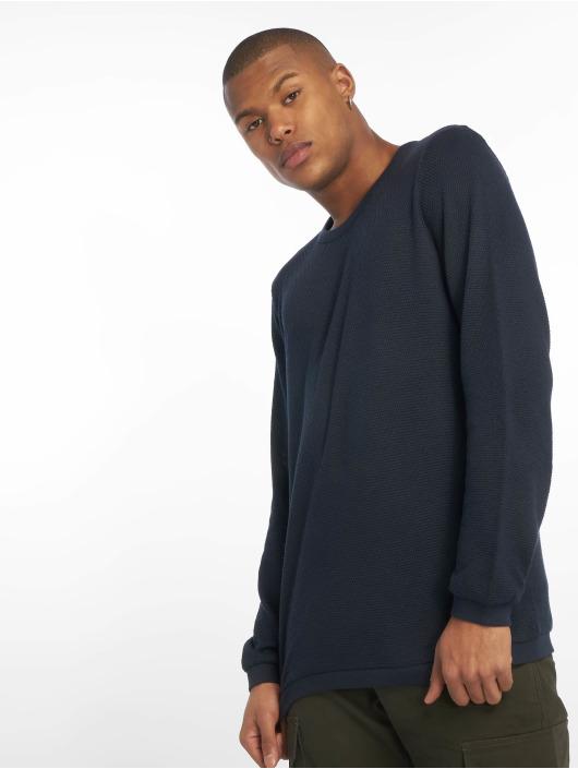 New Look Swetry Textured niebieski
