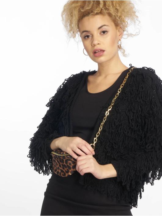 New Look Swetry rozpinane Loopy czarny