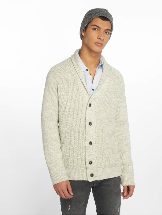 New Look Swetry rozpinane Shawl szary