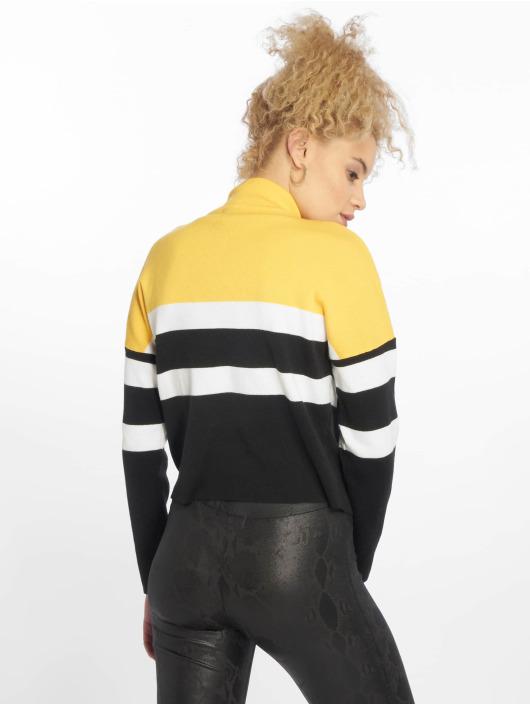 New Look Swetry 1/2 Zip zólty