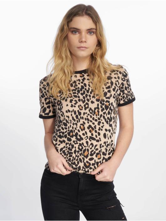 New Look T-paidat Leopard AOP ruskea