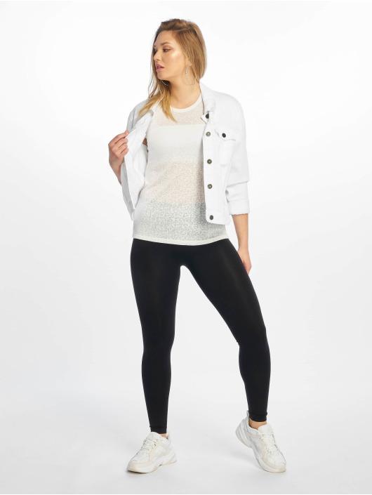 New Look T-paidat Leopard Burnout valkoinen