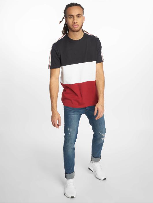 New Look T-Shirt 3 Block Tape blau