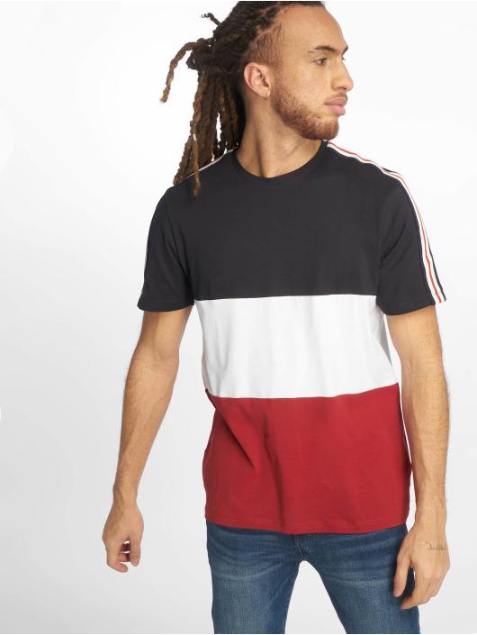New T shirt 3 Look Tape Bleu 651415 Block Homme htQCxrds