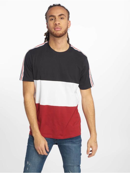 New Look T-Shirt 3 Block Tape blue