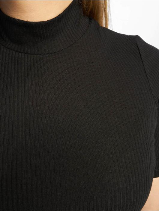 New Look T-Shirt Turtle Neck 1/S noir
