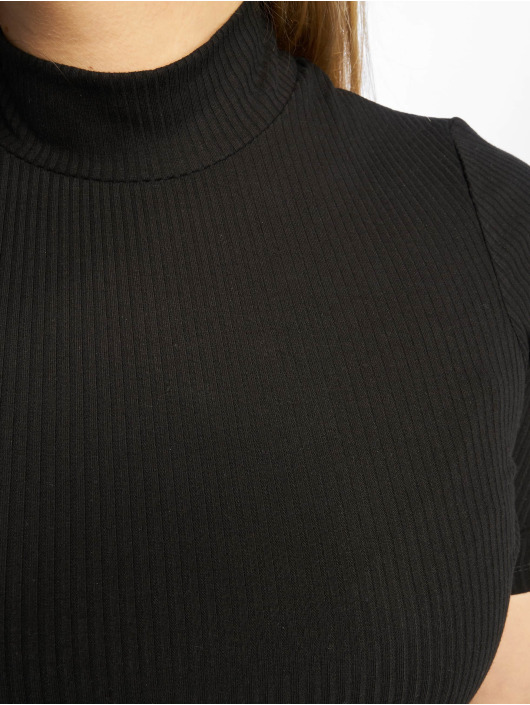 New Look T-Shirty Turtle Neck 1/S czarny