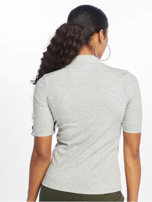 New Look T-skjorter Turtle Neck 1/S Sleeve grå