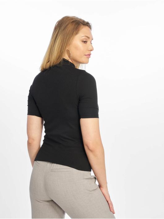 New Look T-skjorter Turtle Neck 1/S svart