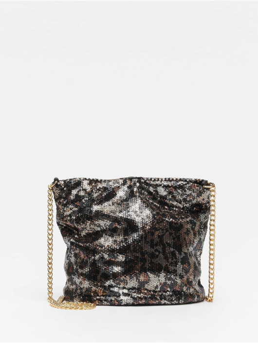 New Look Tasche Lennie Leopard Sequin braun