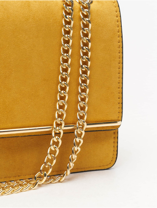 New Look Torby Rochelle Chain Choulder zólty