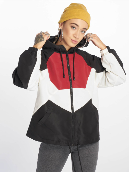 New Look Übergangsjacke Carla Colourblock schwarz