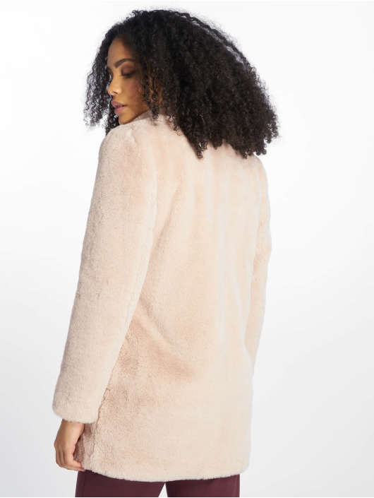 New Look Ulkotakit OP AW18 LI Faux Fur roosa