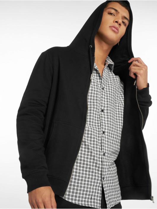 New Look Zip Hoodie Core Zip Thru èierna
