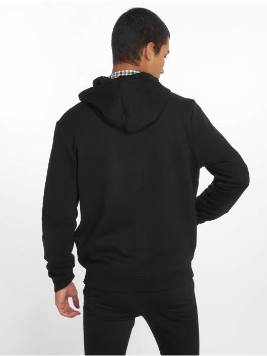 New Look Zip Hoodie Core Zip Thru schwarz