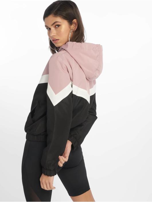New Look Zomerjas Colourblock Fleece Lined rose