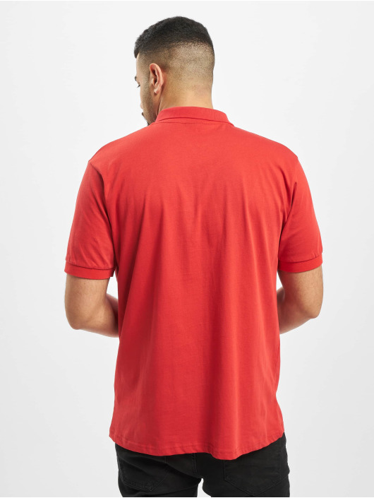 New York Style Poloshirt Pius rot