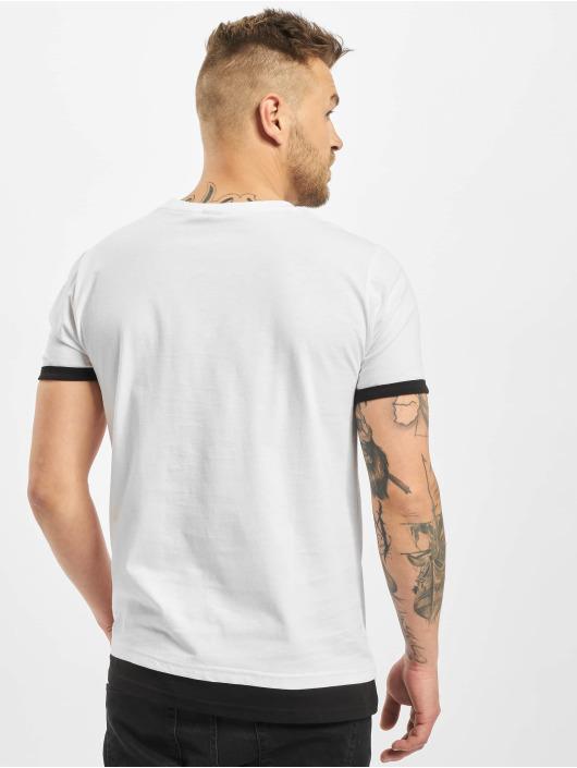 New York Style T-shirt Layers bianco
