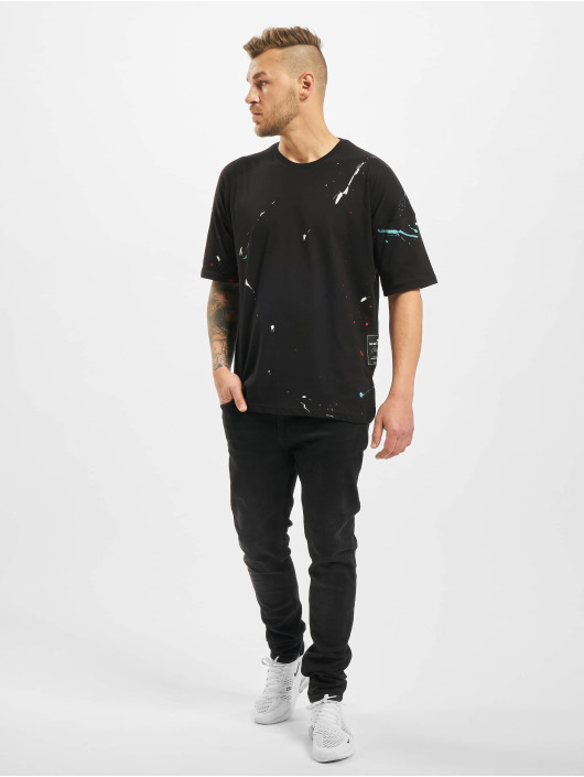 New York Style T-shirt Sprinkle nero