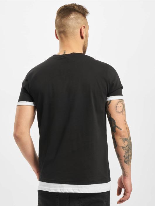 New York Style T-Shirt Layers schwarz