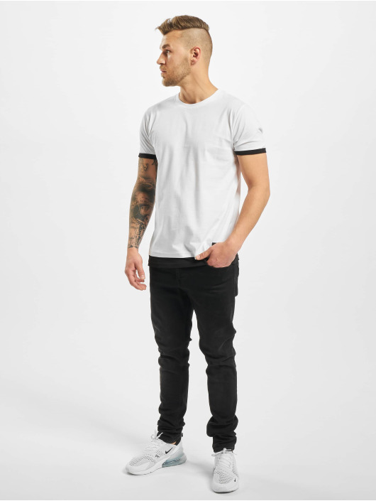 New York Style T-Shirt Layers weiß