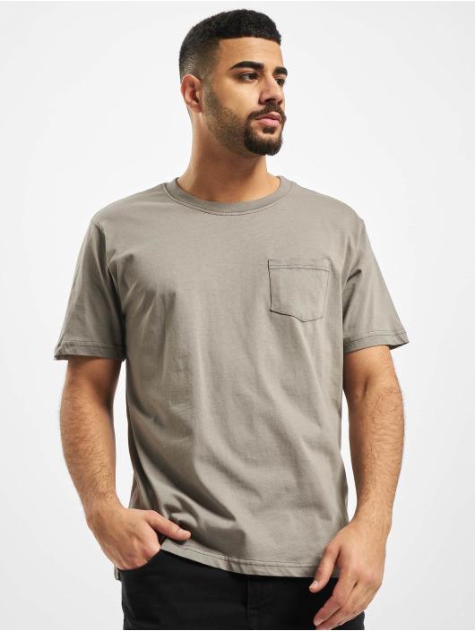 New York Style T-shirts Style Juri grå