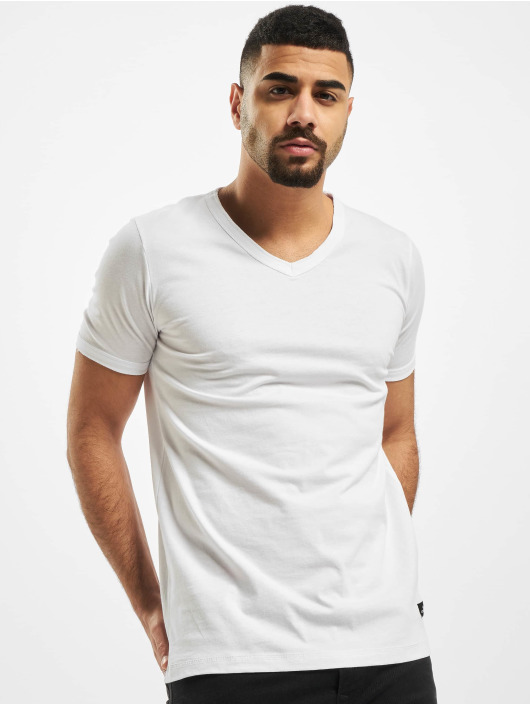 New York Style T-shirts Colin hvid