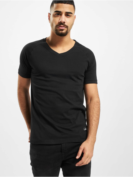 New York Style T-Shirty Avan czarny