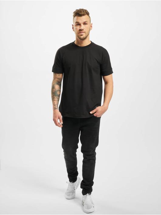 New York Style T-Shirty Rondo czarny