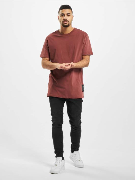 New York Style T-Shirty Leif czerwony