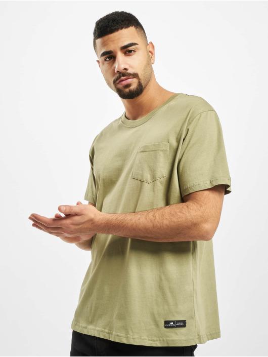 New York Style T-Shirty Juri oliwkowy