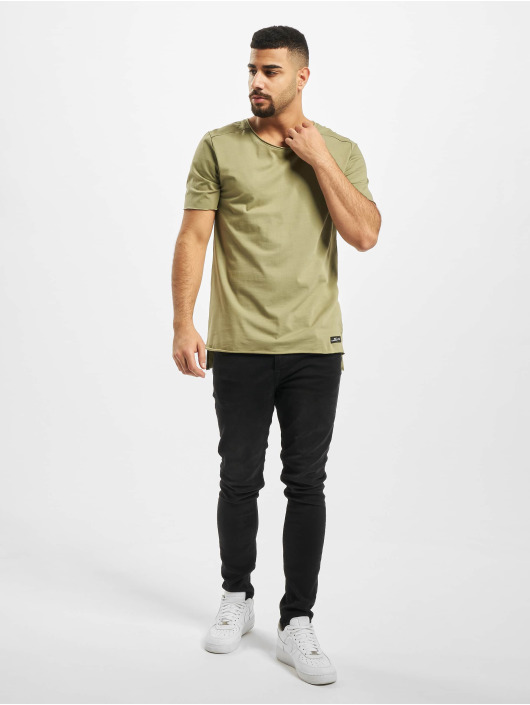 New York Style T-Shirty Bodo oliwkowy