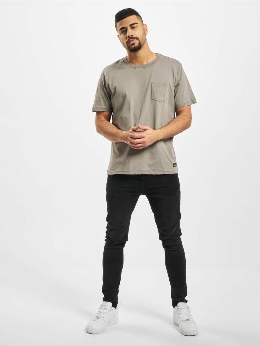 New York Style T-Shirty Style Juri szary