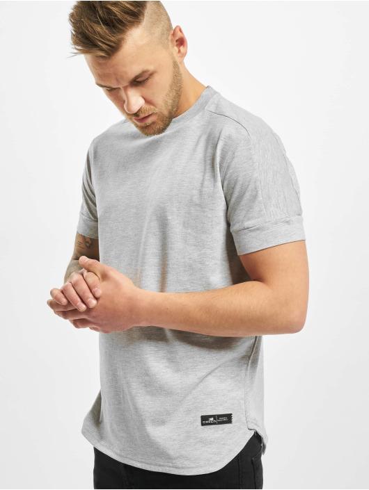 New York Style T-Shirty Rondo szary