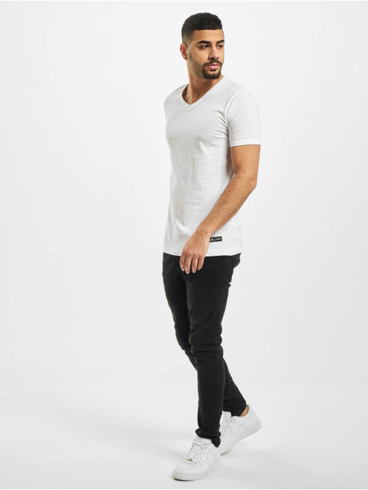 New York Style Tričká Colin biela