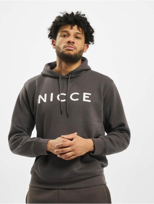 Nicce Hoodie Original Logo gray