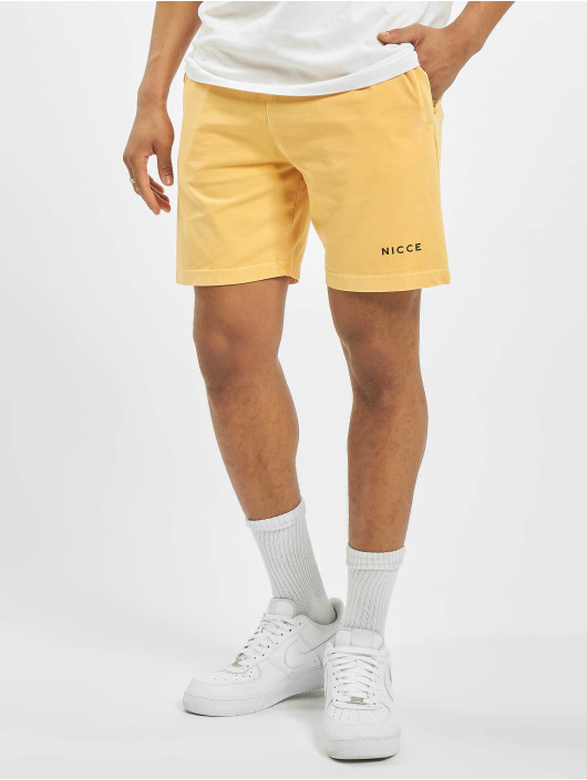 Nicce Short Cline Jog yellow