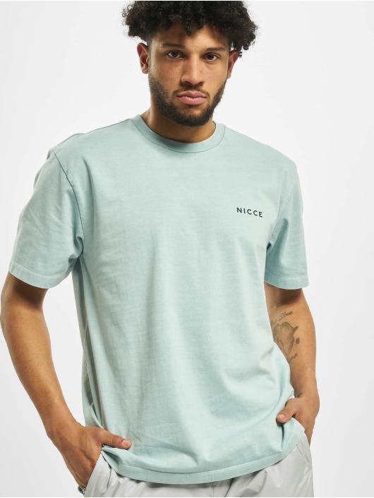 Nicce T-Shirt Cline OS blau