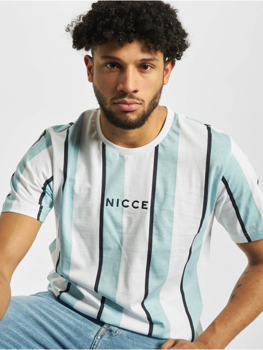 Nicce T-Shirt Stripe blau