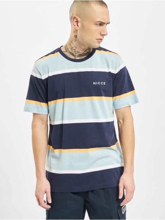 Nicce t-shirt Pillar blauw