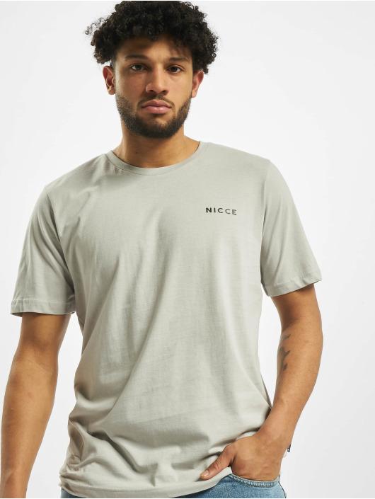 Nicce T-Shirt Chest Logo grau