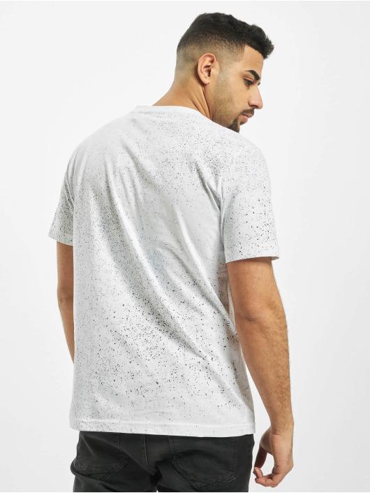 Nicce t-shirt Splatter wit