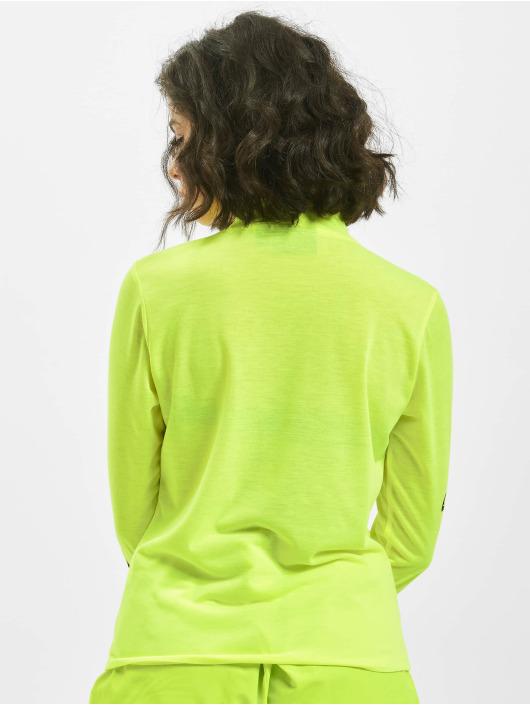 Nicce Tričká dlhý rukáv Logo žltá