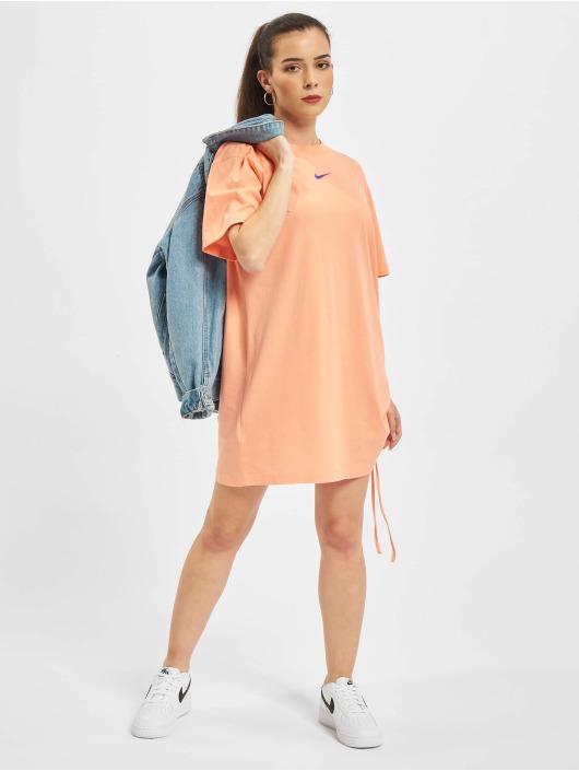 Nike Šaty W Nsw Essntl Prnt ružová